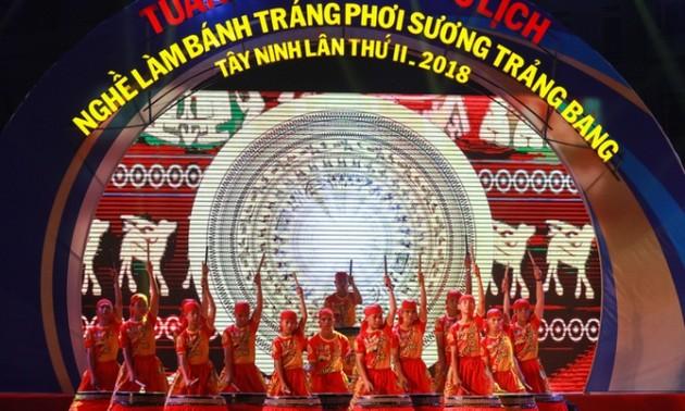 Tuần lễ Văn hóa, Du lịch nghề làm bánh tráng phơi sương Trảng Bàng Tây Ninh lần 2 năm 2018