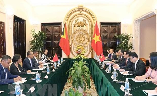 Việt Nam và Timor-Leste tăng cường hợp tác trên nhiều lĩnh vực