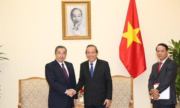 Tăng cường quan hệ Đối tác chiến lược sâu rộng Việt Nam - Nhật Bản
