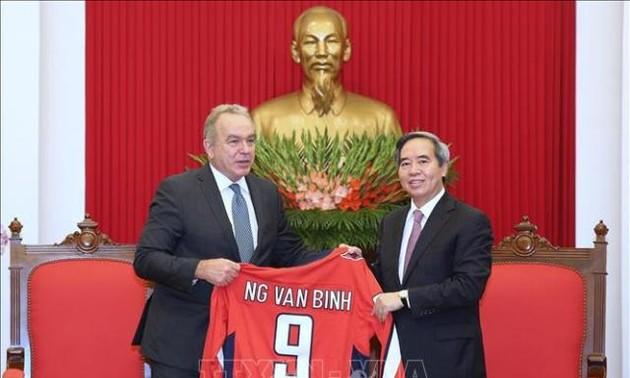 Hoa Kỳ là một trong những đối tác hàng đầu của Việt Nam