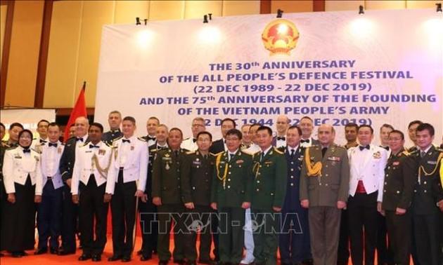 Kỷ niệm 75 năm thành lập Quân đội nhân dân Việt Nam tại Indonesia