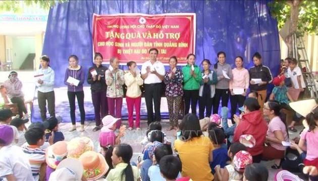 Hội Chữ thập đỏ Việt Nam phấn đấu 1,5 triệu suất quà Tết cho người nghèo