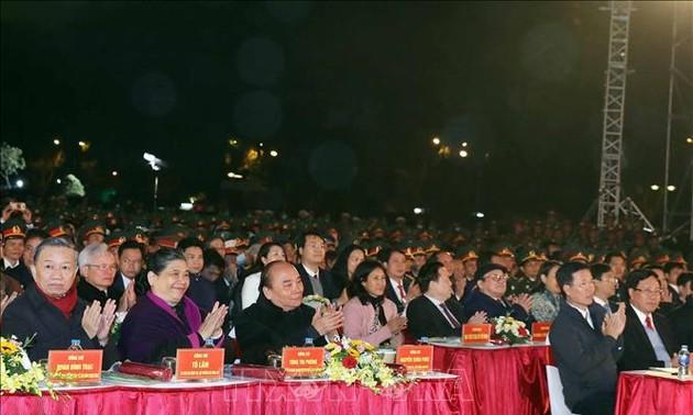 """Cầu truyền hình """"Ánh sáng niềm tin"""" kỷ niệm 90 năm thành lập Đảng Cộng sản Việt Nam"""