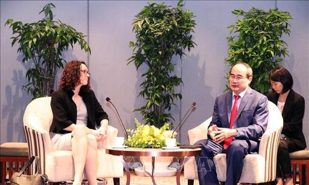 Bí thư Thành ủy Thành phố Hồ Chí Minh tiếp đoàn đại biểu bang Hessen, Cộng hòa Liên bang Đức