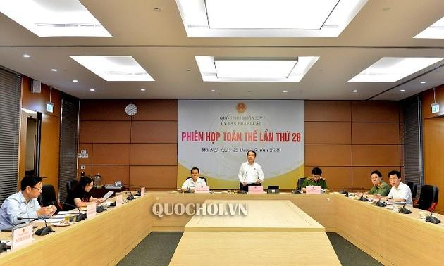 Phiên họp 28 Ủy ban pháp luật của Quốc hội