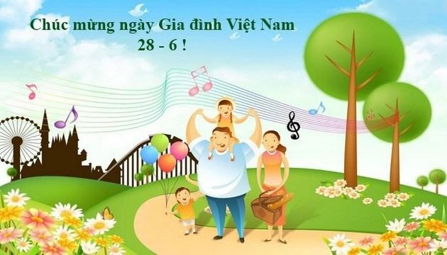 Tháng 6/2020 diễn ra nhiều hoạt động mừng Ngày Gia đình Việt Nam