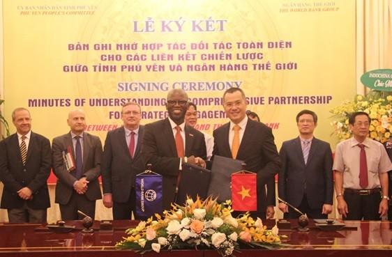 Thiết lập quan hệ đối tác chiến lược giữa WB và tỉnh Phú Yên