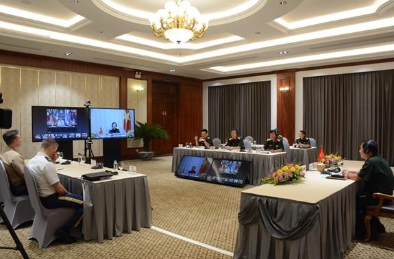 Hội nghị trực tuyến Tư lệnh Lực lượng Quốc phòng khu vực Ấn Độ Dương - Thái Bình Dương