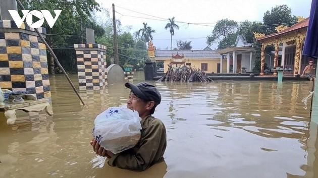 Mưa lũ gây thiệt hại lớn về người và của tại miền Trung và Tây nguyên