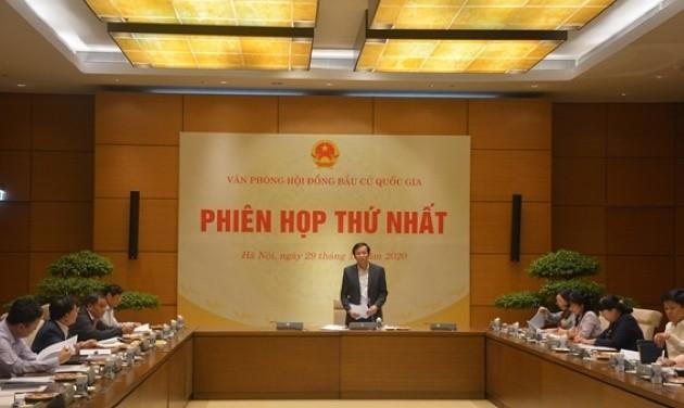 Phiên họp thứ nhất Văn phòng Hội đồng bầu cử quốc gia