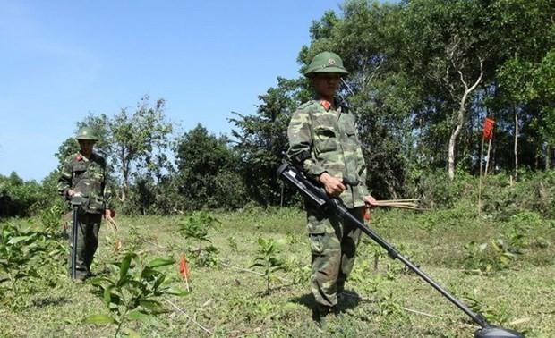 Hoàn thành giai đoạn 2 Dự án khảo sát kỹ thuật bom mìn tại Thừa Thiên Huế
