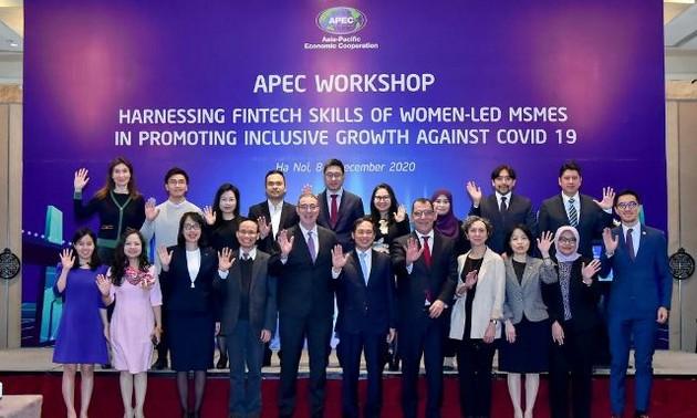 APEC thúc đẩy phục hồi cho doanh nghiệp do phụ nữ làm chủ