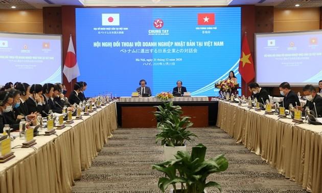 Hội nghị đối thoại với doanh nghiệp Nhật Bản tại Việt Nam