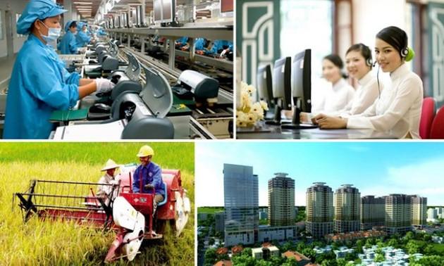 Việt Nam đặt mục tiêu phấn đấu tốc độ tăng trưởng GDP khoảng 6,5% trong năm 2021