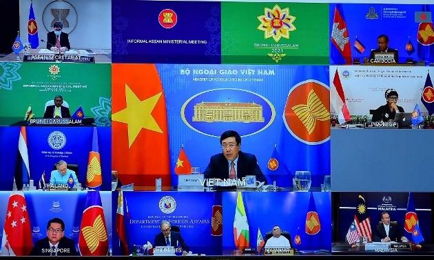 Việt Nam cam kết cùng các nước ASEAN hợp tác đẩy lùi đại dịch Covid-19