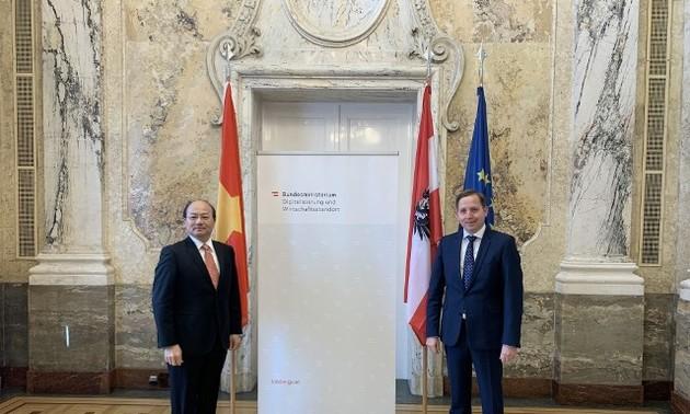 Việt Nam và Cộng hòa Áo tăng cường định hướng hợp tác kinh tế - thương mại