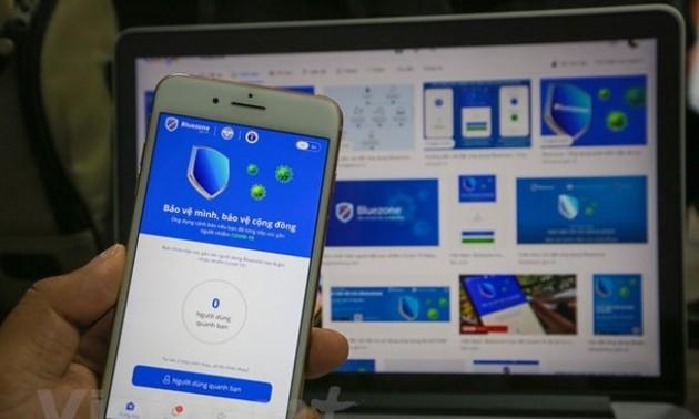 Dịch COVID-19: Đã có hơn 30 triệu lượt tải ứng dụng Bluezone