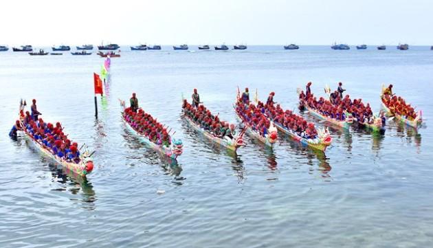 Lý Sơn sẽ tổ chức đua thuyền Tứ linh đón Bằng Di sản Văn hoá phi vật thể quốc gia