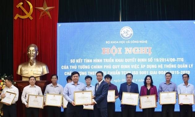 Áp dụng hệ thống tiêu chuẩn ISO, Việt Nam cải cách thủ tục hành chính mạnh mẽ