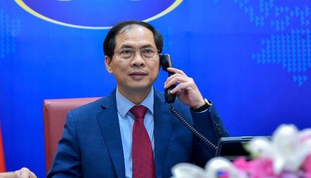 Bộ trưởng Ngoại giao Lào, Campuchia và Indonesia điện đàm chúc mừng Bộ trưởng Ngoại giao Bùi Thanh Sơn