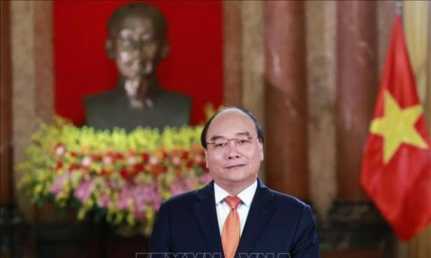 Chủ tịch nước Nguyễn Xuân Phúc gửi thư chúc mừng nhân 75 năm Ngày truyền thống phòng, chống thiên tai Việt Nam