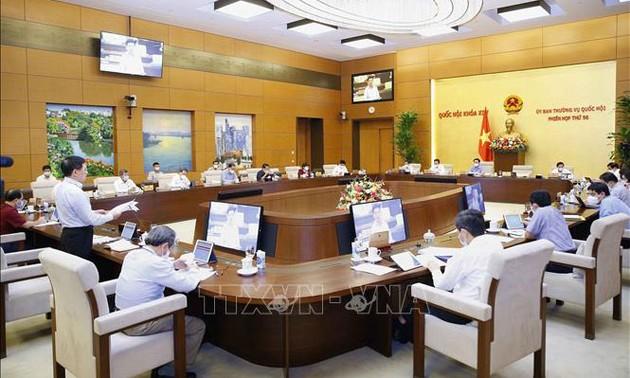 Khai mạc phiên họp 57 của Ủy ban Thường vụ Quốc hội