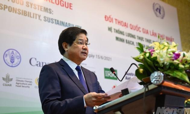 Đối thoại quốc gia đảm bảo an ninh lương thực toàn cầu