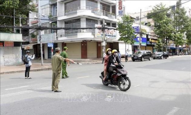 19 tỉnh, thành phố phía Nam thực hiện Chỉ thị 16 của Thủ tướng Chính phủ từ 19/7