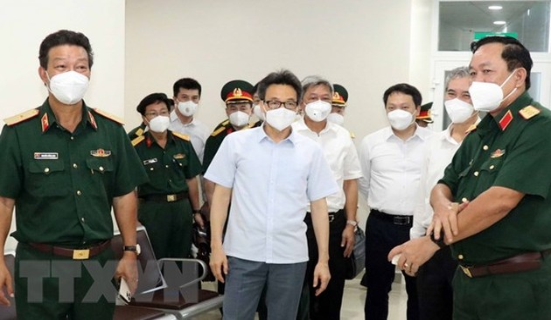 Phó Thủ tướng Vũ Đức Đam: Huy động mọi nguồn lực để chống dịch tại Thành phố Hồ Chí Minh