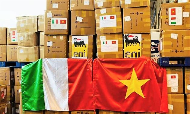 Sứ mệnh đặc biệt của chuyến bay chở các chuyên gia dầu khí cấp cao Italia sang Việt Nam