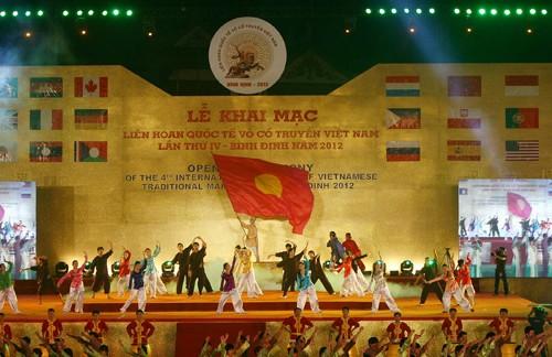 Inaugurado IV Festival Internacional de artes marciales tradicionales de Vietnam