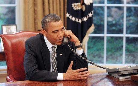 Obama y Putin preocupados por situación en Siria