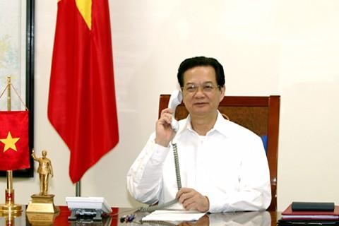 Premier vietnamita felicita al Partido Liberal Democrático japonés
