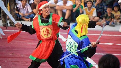 Disfrutar el ajedrez humano en Binh Dinh, cuna de las artes marciales vietnamitas
