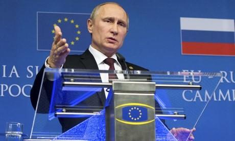 Presenta presidente ruso nuevo plan para solucionar la crisis ucraniana