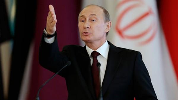 Acusa Presidente de Rusia a Estados Unidos de alterar el orden mundial