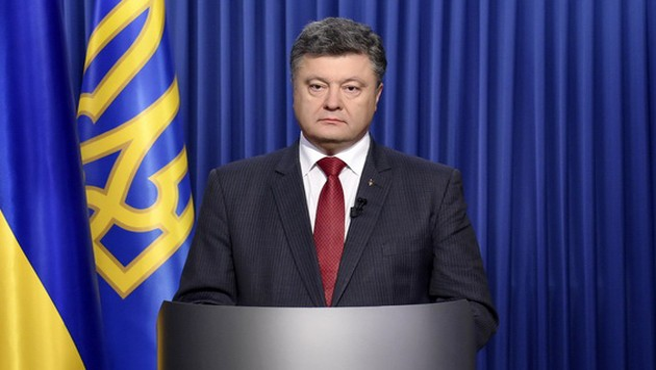 Presidente ucraniano exhorta a nuevas elecciones en áreas orientales del país