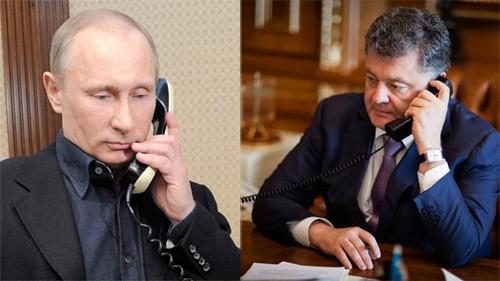 Dialogan dirigentes ruso y ucraniano