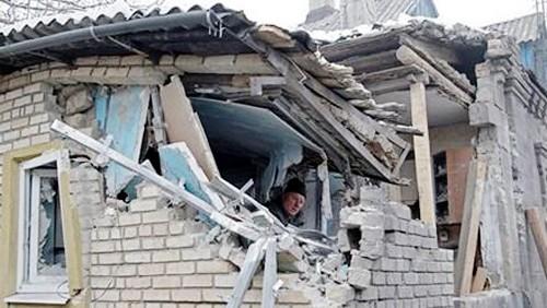 Zona del este ucraniano al borde de enfrentamientos bélicos