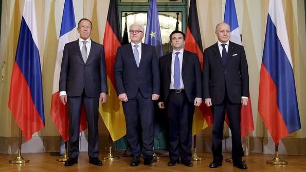 Oportunidades del este ucraniano en Cumbre a cuatro bandas