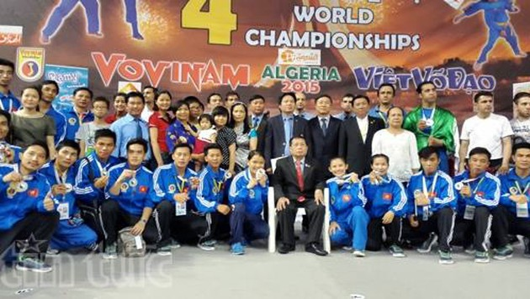 Logra Vietnam cuarto campeonato consecutivo del Torneo Mundial de Vovinam