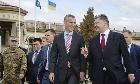 Secretario general de la OTAN visita Ucrania por primera vez