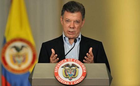 Presidente de Colombia propone acuerdo de alto al nivel con las FARC