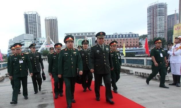 Intercambio fronterizo en defensa impulsa construcción de confianza entre Vietnam y China