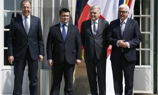 Cuarteto de Normandía acuerda medidas de seguridad para el Este de Ucrania