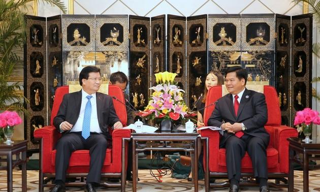 Exhortan a mayor cooperación entre localidades vietnamitas y chinas en la frontera común