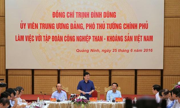 Reestructura Grupo vietnamita de Industria de Carbón y Minería