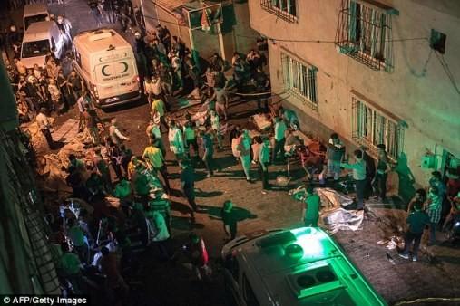 Aumenta el número de muertos en ataque contra boda en Turquía