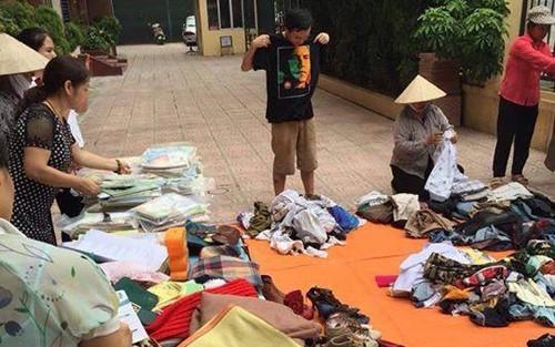 Programa caritativo de dos mil dongs – simpatía para la comunidad