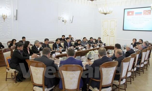 Elevan a un nuevo nivel la asociación estratégica Vietnam-Rusia